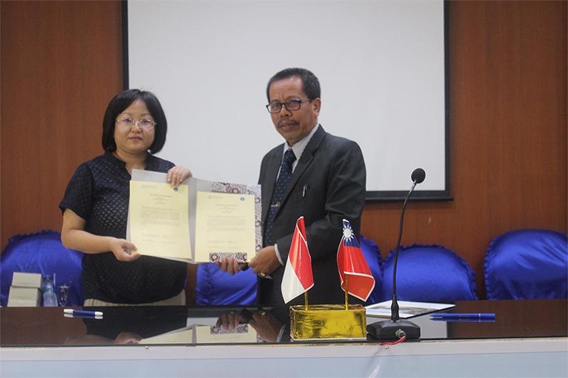 Universitas Medan Area dan Perguruan Tinggi Taiwan Tandatangani Kerjasama Peningkatan Mutu Pendidikan