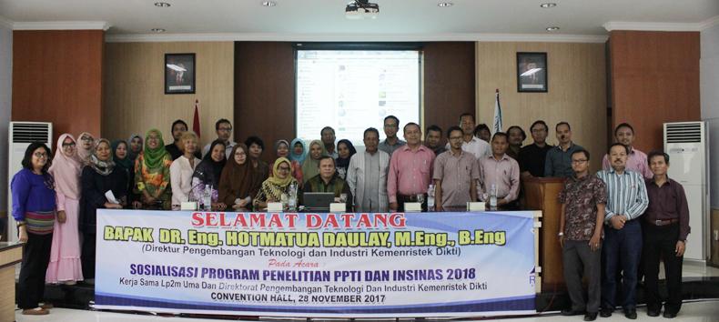 Sosialisasi Program Penelitian PPTI Dan Insinas 2018