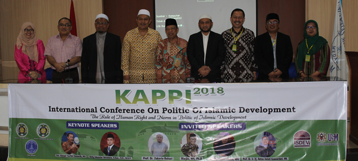 Magister Administrasi Publik Pascasarjana UMA Selenggarakan International Conference On politic of Islamic Development