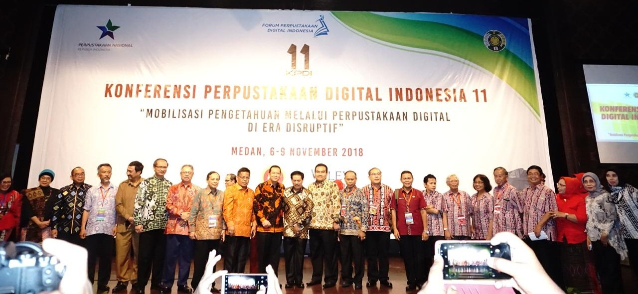 Konferensi Perpustakaan Digital Indonesia 11 Tahun 2018