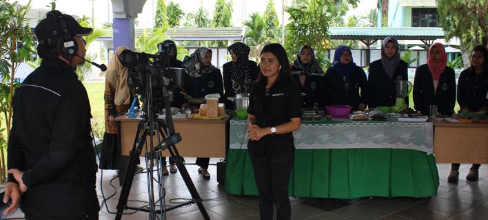 Metro TV Liput Kreasi Olahan Kulit Pisang Hasil Kreativitas Mahasiswa UMA