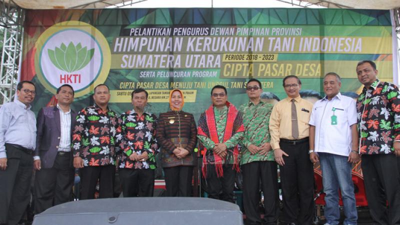 Penandatanganan MoU antara HKTI Sumut dengan Universitas Medan Area