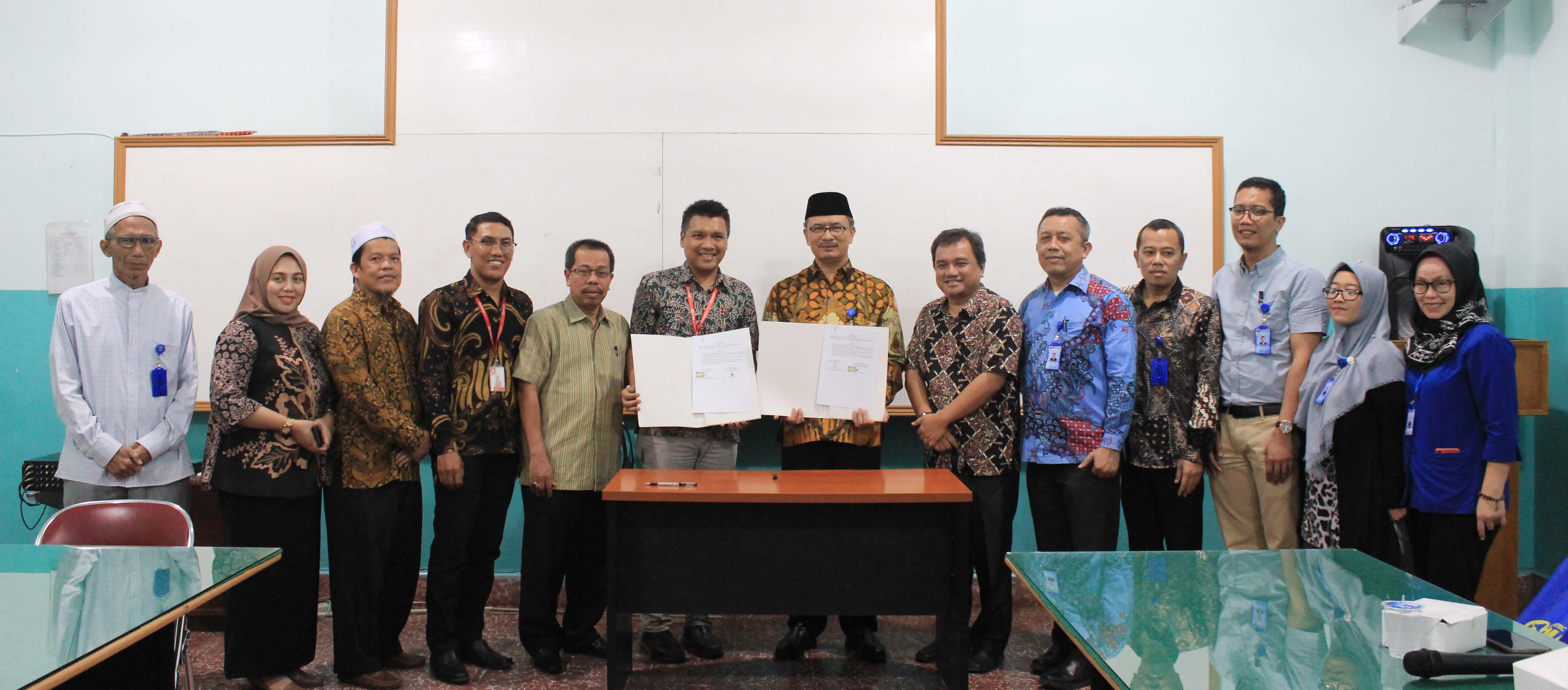 Penandatanganan Nota Kesepahaman Kerjasama Antara Universitas Medan Area dengan PT. Midi Utama Indonesia