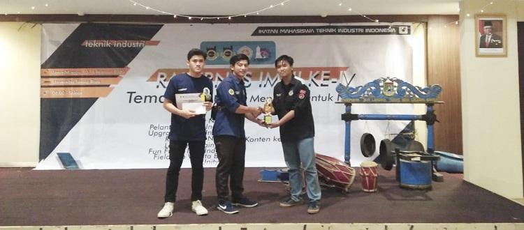 Selamat Kepada Mahasiswa UMA Meraih Prestasi Lomba RAKERNAS IV IMTI Indonesia