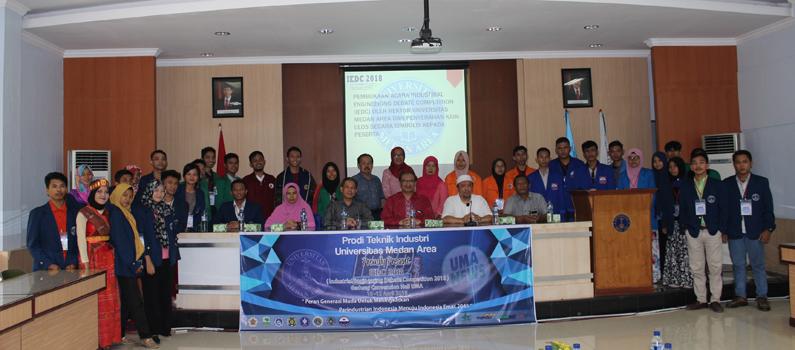 Universitas Medan Area selenggarakan Industrial Engineering Debate Competition (IEDC)