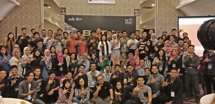 Mahasiswa UMA Ikuti Kegitan Bekraf Young Technology Enterpreneurs (BYTE ) 2018