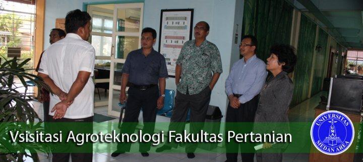 Visitasi Prodi Agroteknologi Fakultas Pertanian