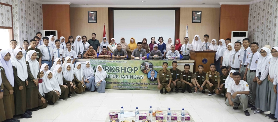 Workshop Kultur Jaringan Fakultas Pertanian Universitas Medan Area