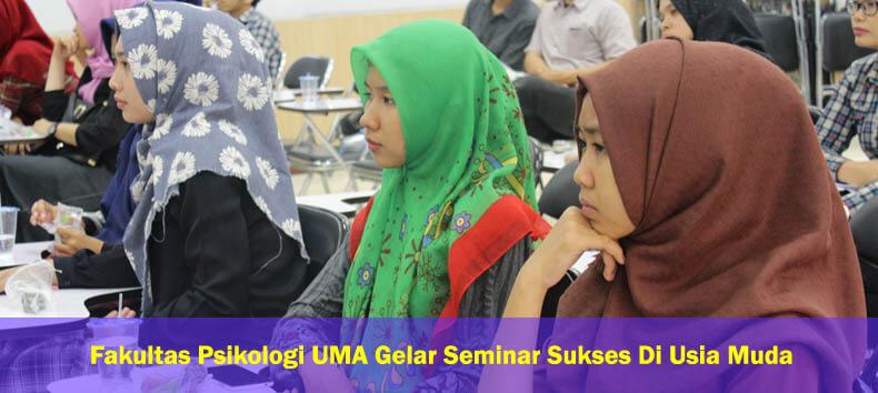 Peserta Seminar Sukses di Usia Muda