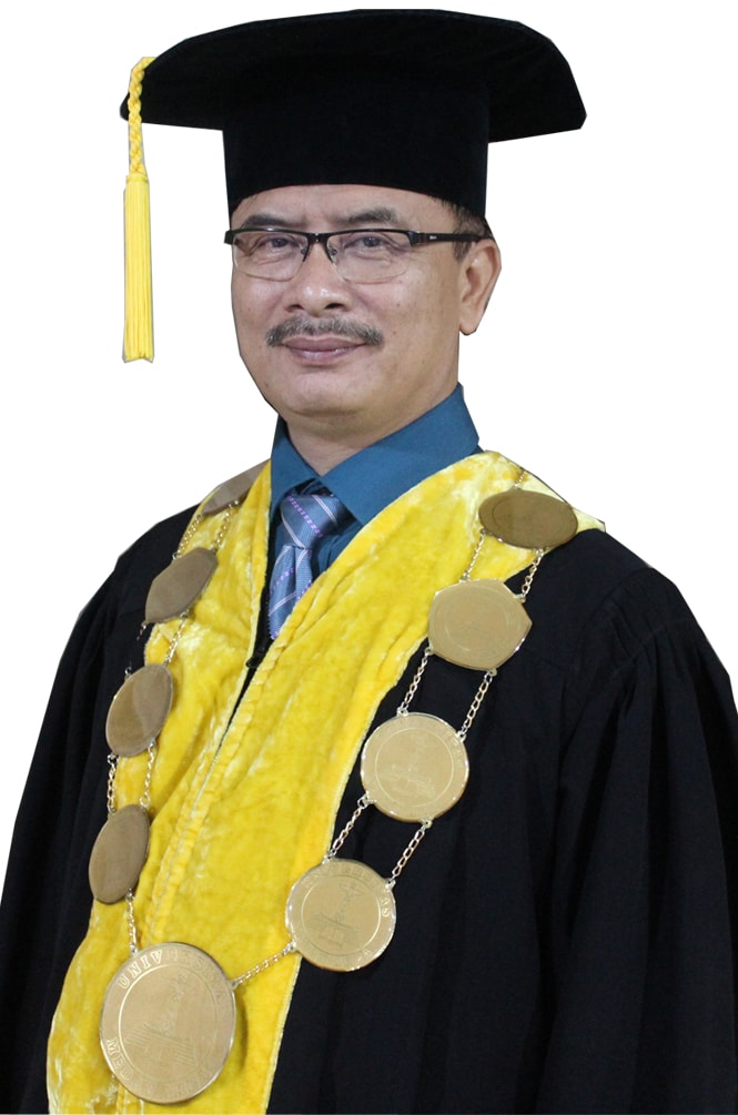 Rektor UMA Prof. Dr. Dadan Ramdan, M.Eng, M.Sc